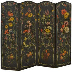 French Dressing Screen, Late 18th C
