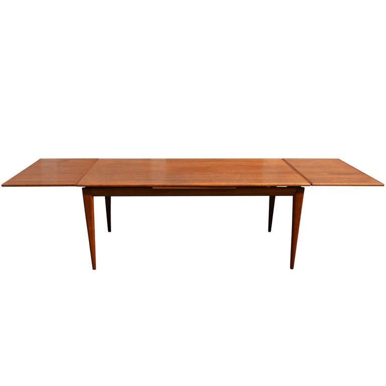 Danish Teak Dining Table at 1stdibs : DSC0098l from www.1stdibs.com size 768 x 768 jpeg 14kB