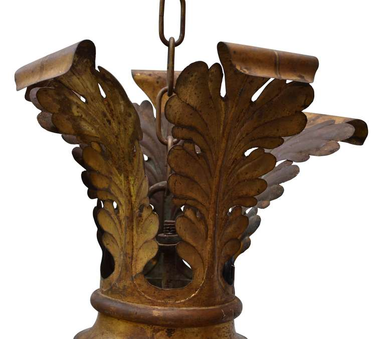 Large Wood Beaded Chandelier 2