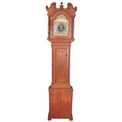 Scandinavian Folk Art Case Clock