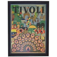 Copenhagen Tivoli Poster, 1971