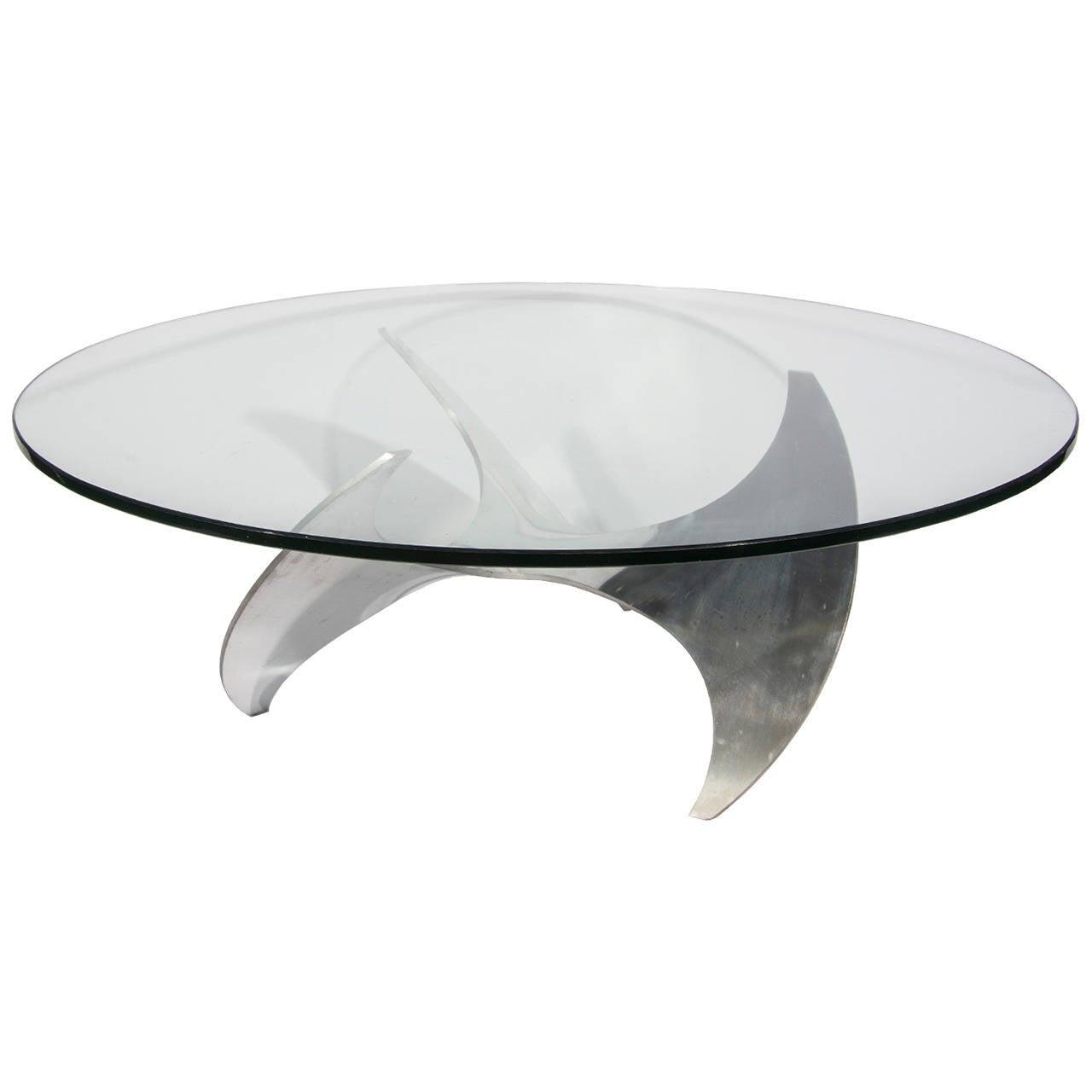Knut Hesterberg Propeller Coffee Table At 1stdibs