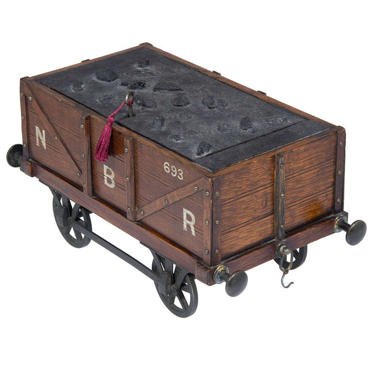 Victorian Gentleman S Smoking Box In The Form Of A