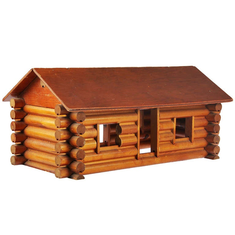 pioneer log cabin co with advertisement at 1stdibs. Black Bedroom Furniture Sets. Home Design Ideas