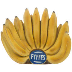 Hand of FYFFES Bananas Advertising Art