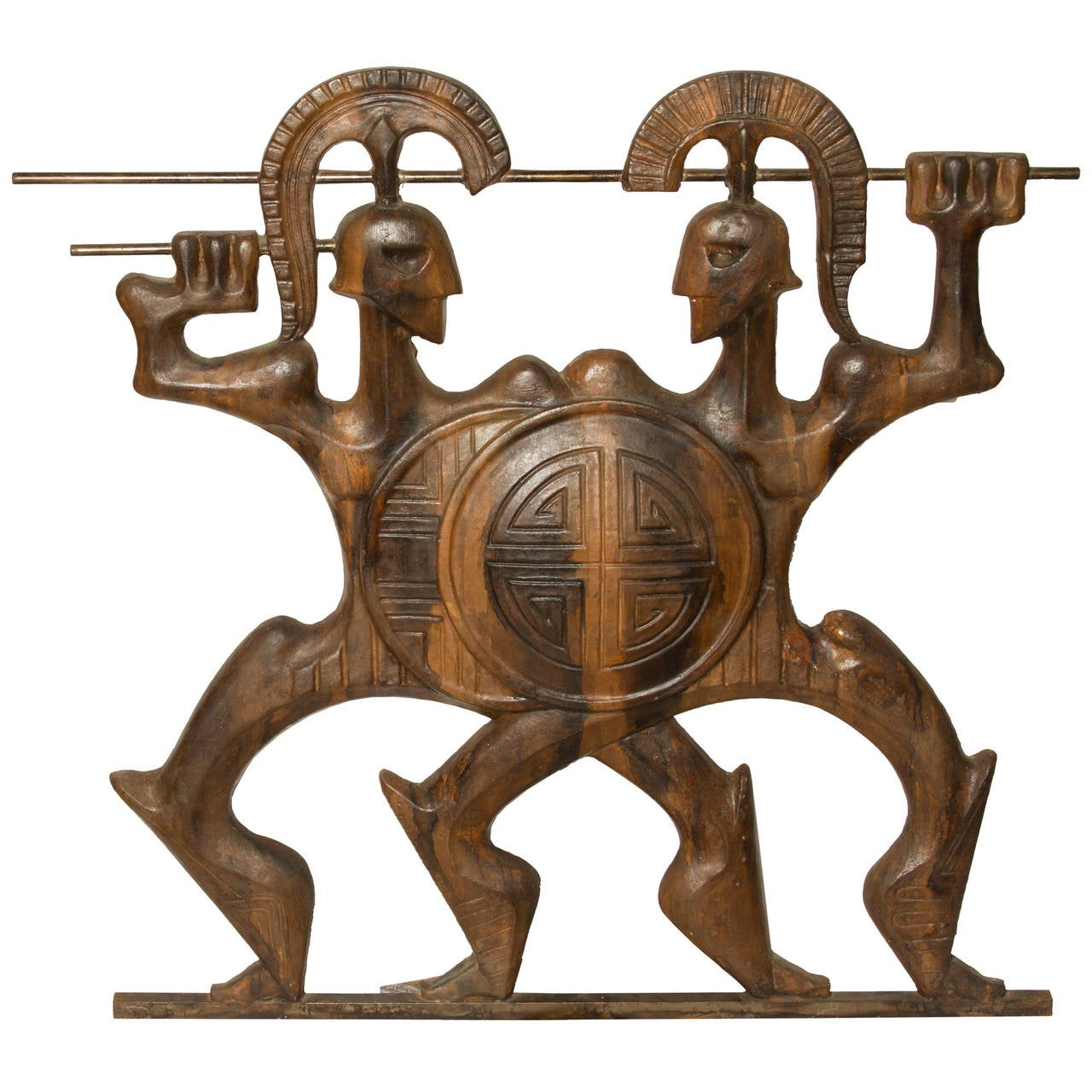 Frederick Weinberg Quot Roman Soldier Quot Wall Sculpture At 1stdibs