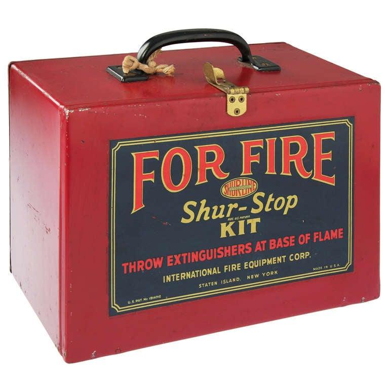 Shur Stop Fire Extinguisher Grenade Kit New York At 1stdibs