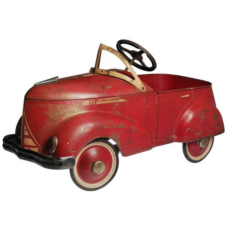 1937 Roadster Pedal Toy Car By Garton Toy Company At 1stdibs