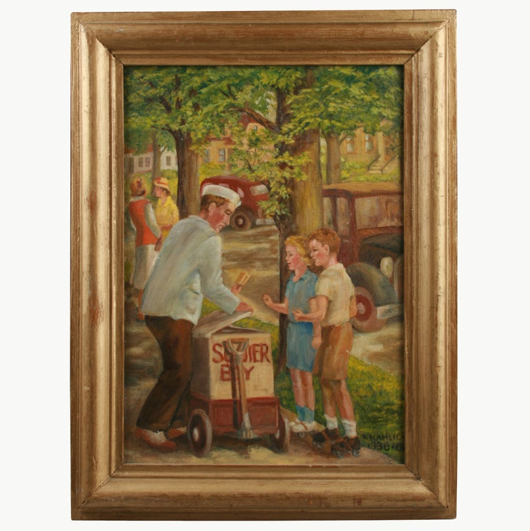 1930s American Paintings Painting 1930 39 s Ice Cream