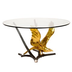 Eagle Dining Table By Léon-François Chervet