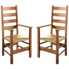 Pair Of Letchworth Armchairs