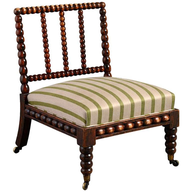 George IV Bobbin Chair at 1stdibs