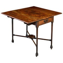 Chippendale Mahogany Pembroke Table