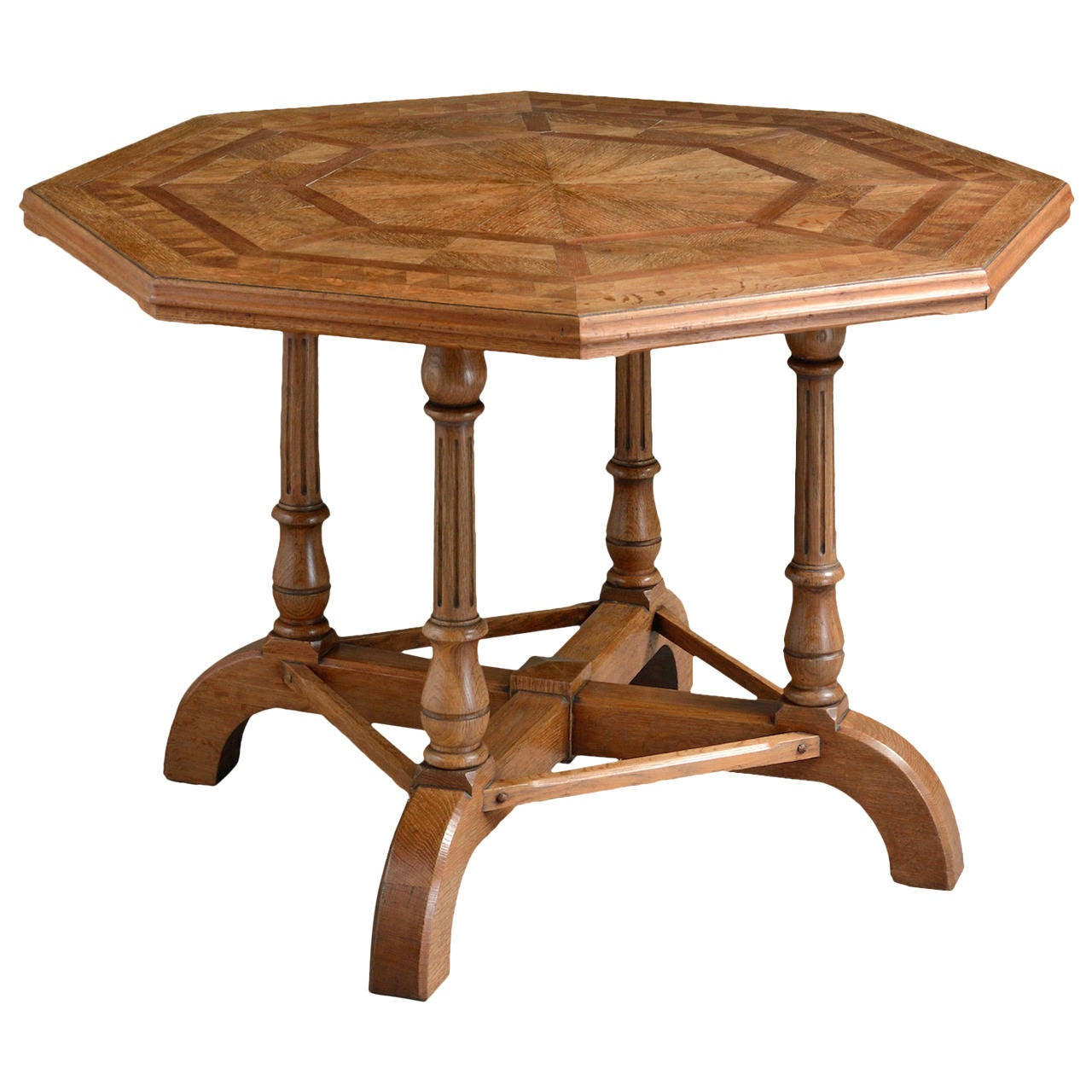 Howard parquetry centre table at 1stdibs for Furniture centre table