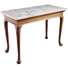 George II Walnut Side Table