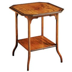 Gillows Olivewood Lamp Table