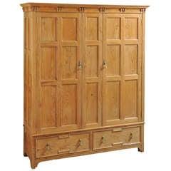 Arts & Crafts Cedar Wardrobe