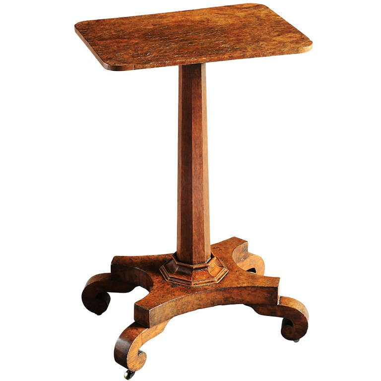Pollard oak lamp table for sale at 1stdibs for Z oak lamp table
