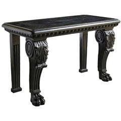 Irish Kilkenny Marble Console Table