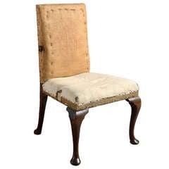 George II Walnut Chair