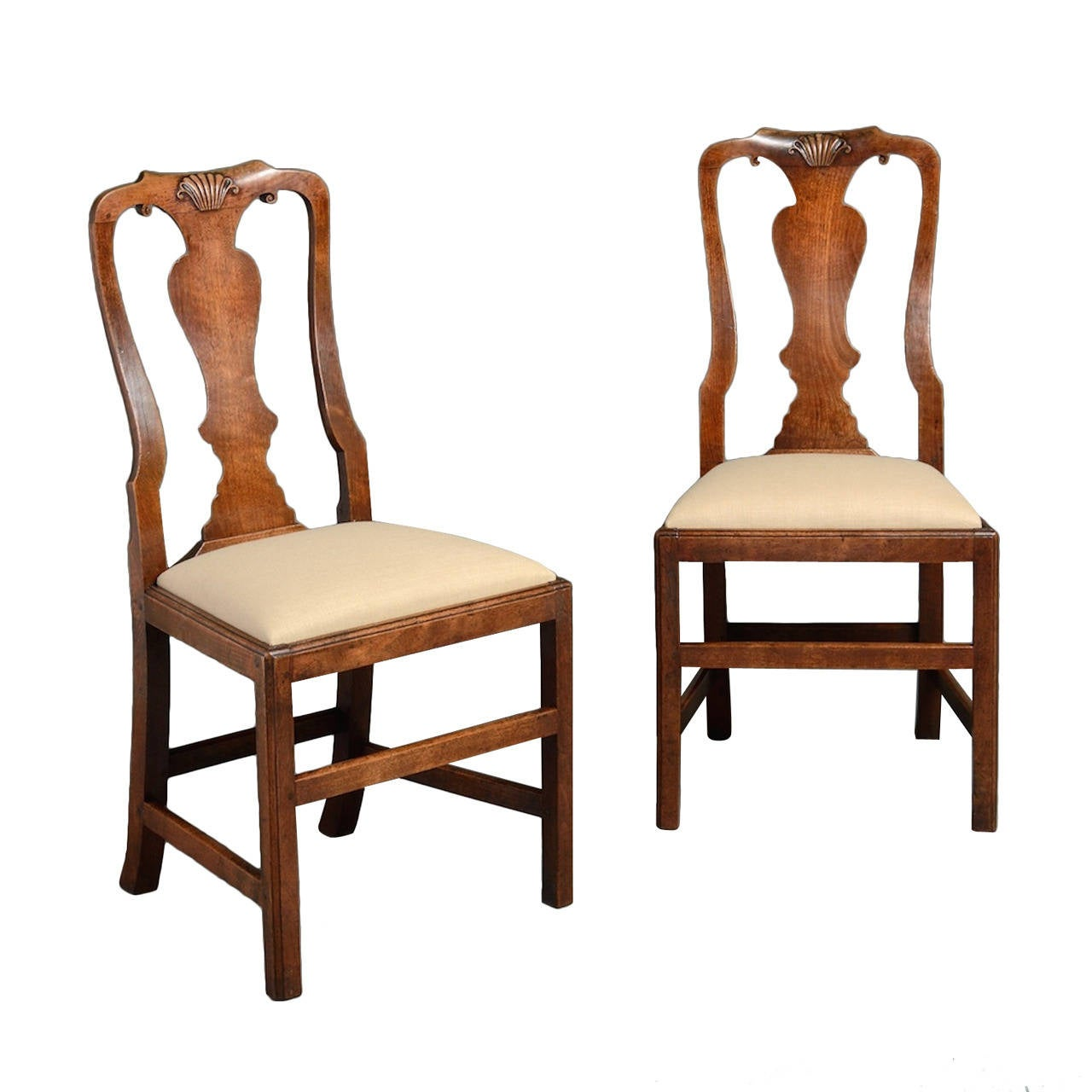 Pair of George II Side Chairs For Sale
