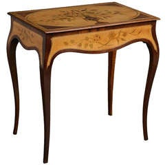 George III Marquetry Writing Table
