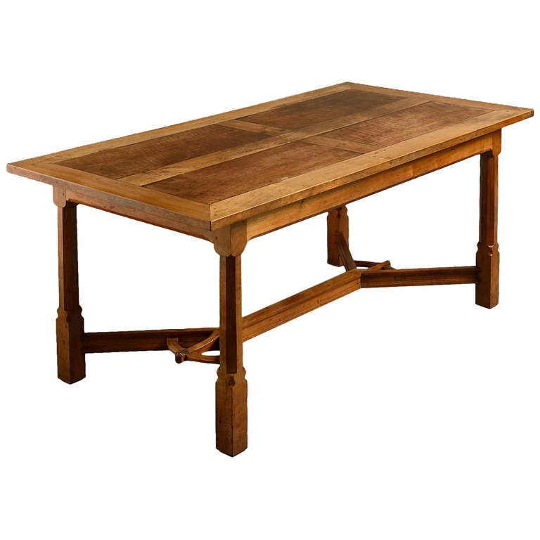 arts and crafts dining table at 1stdibs arts and crafts round dining table