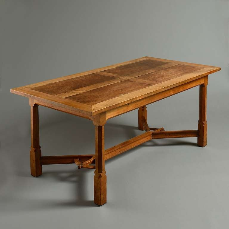 arts and crafts dining table at 1stdibs arts amp crafts inspired dining table finewoodworking