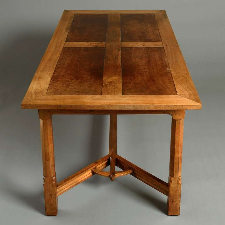 Arts U0026 Crafts Dining Table 3