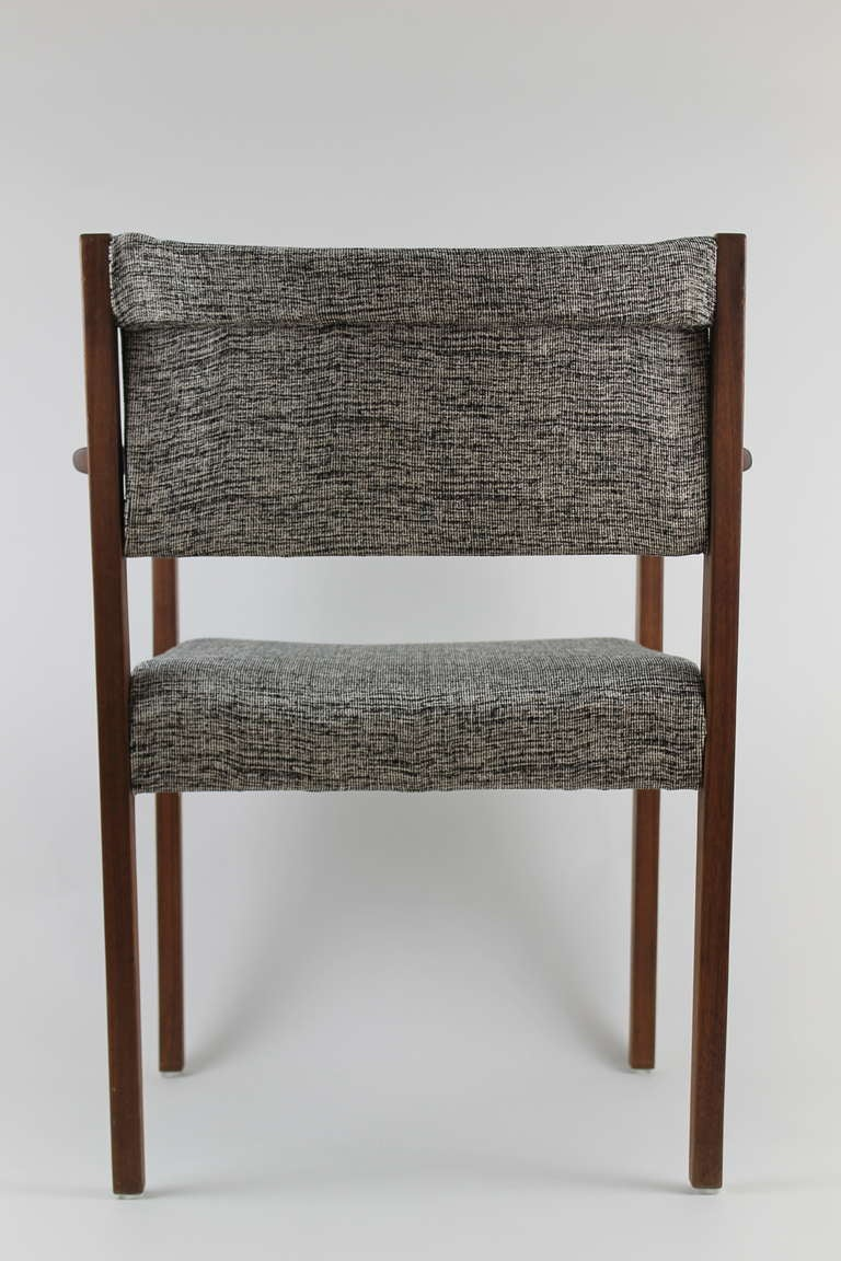 Jens risom dining side chair with arms for sale at 1stdibs - Jens risom side chair ...