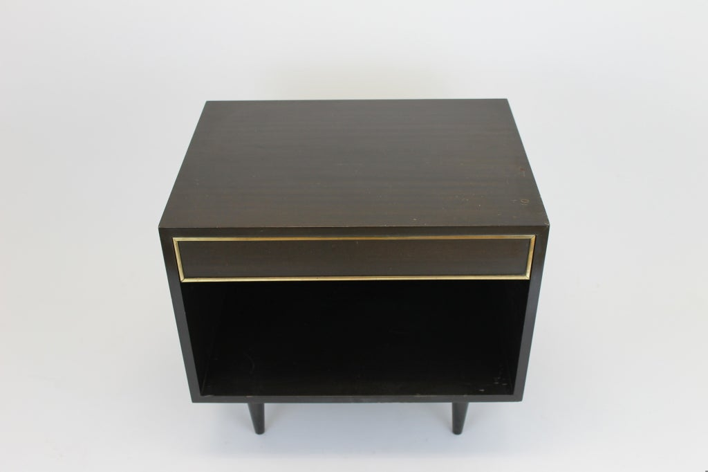 American Harvey Probber small side table with drawer For Sale