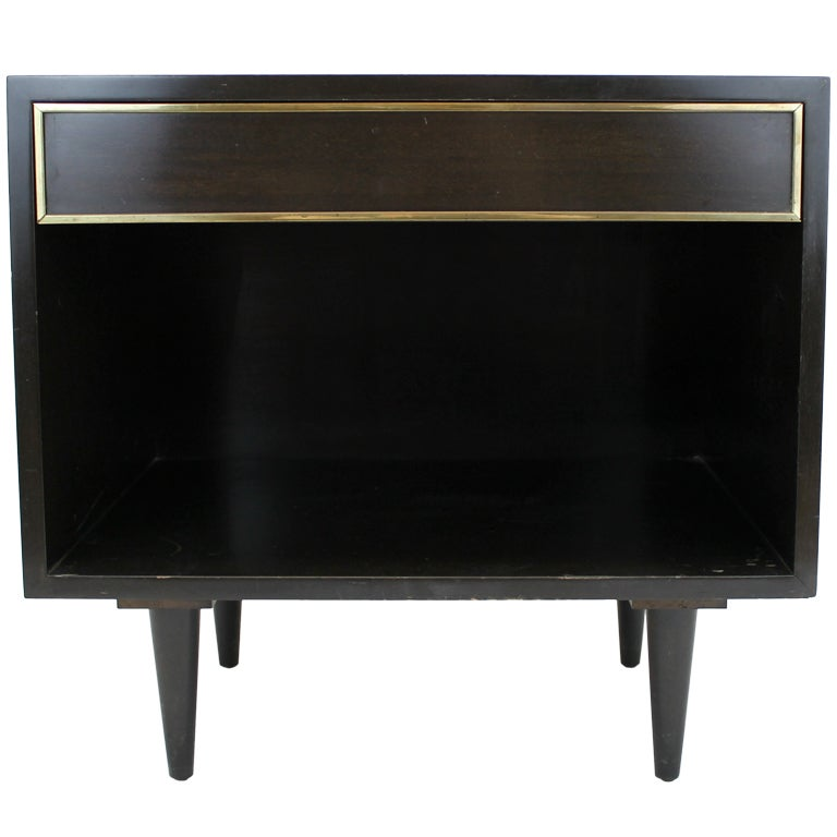 Harvey Probber small side table with drawer For Sale