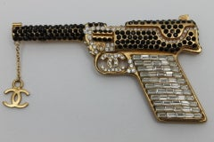Chanel Handgun With Strass Crystals And CC Logo image 7