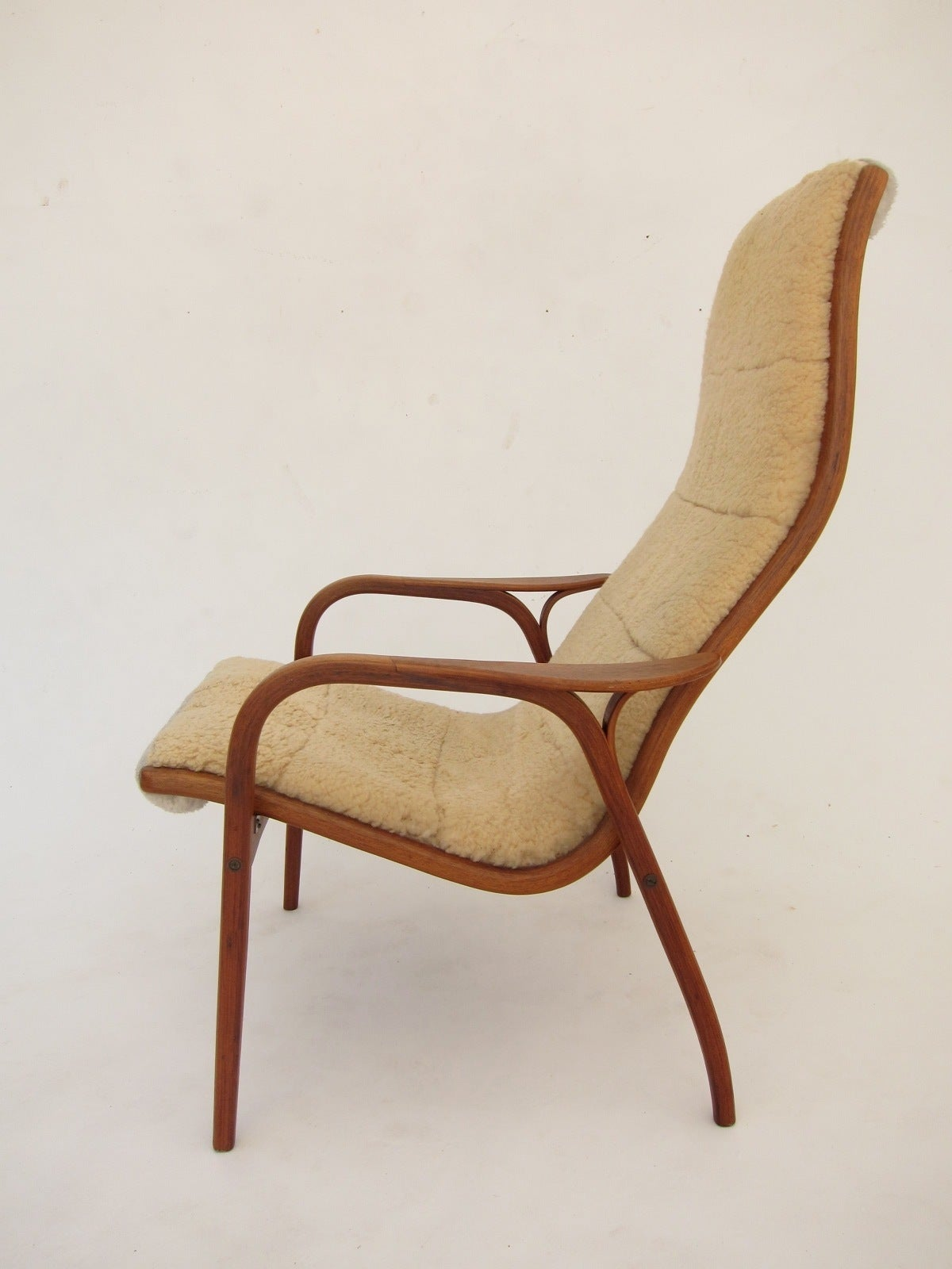 Swedese Lamino Lounge Chair by Yngve Ekstrom For Sale at 1stdibs