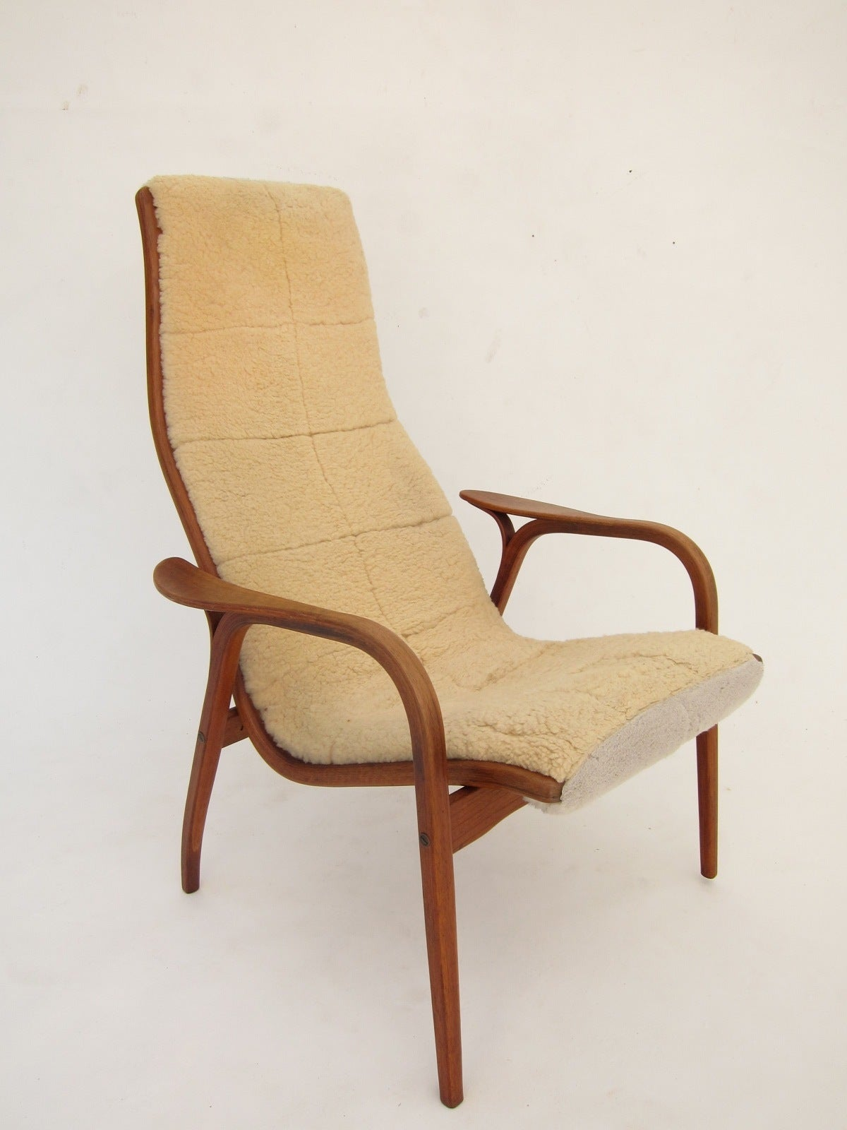 Swedese Lamino Lounge Chair by Yngve Ekstrom at 1stdibs
