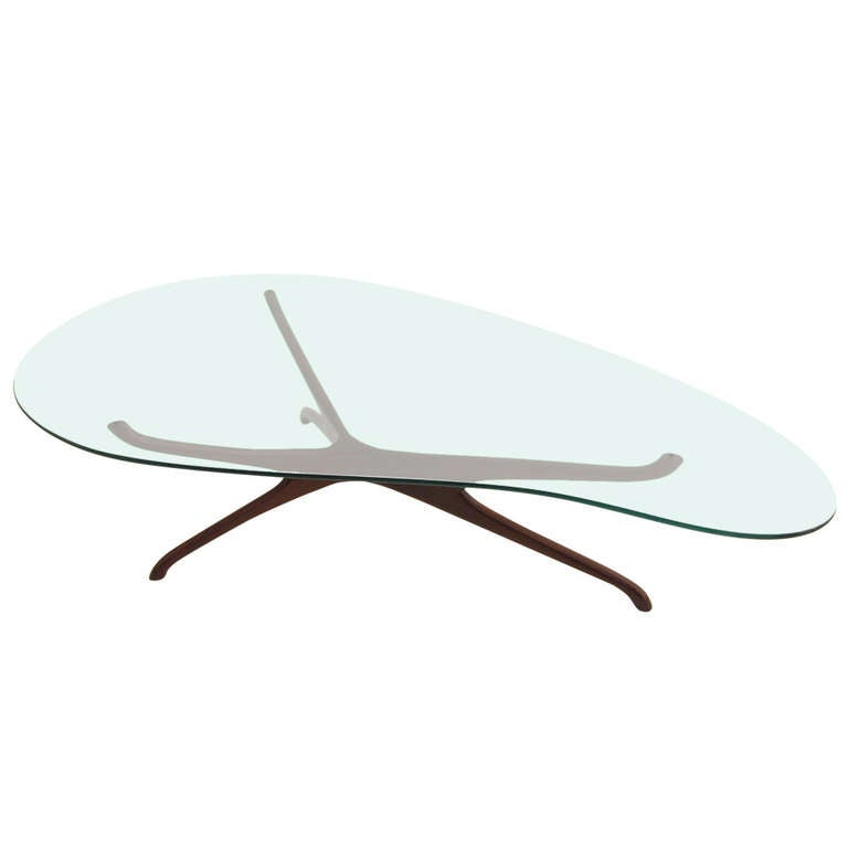 Tri Symmetric Coffee Table By Vladimir Kagan At 1stdibs