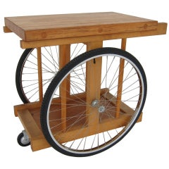California Design B. W. Sanders Bar Cart