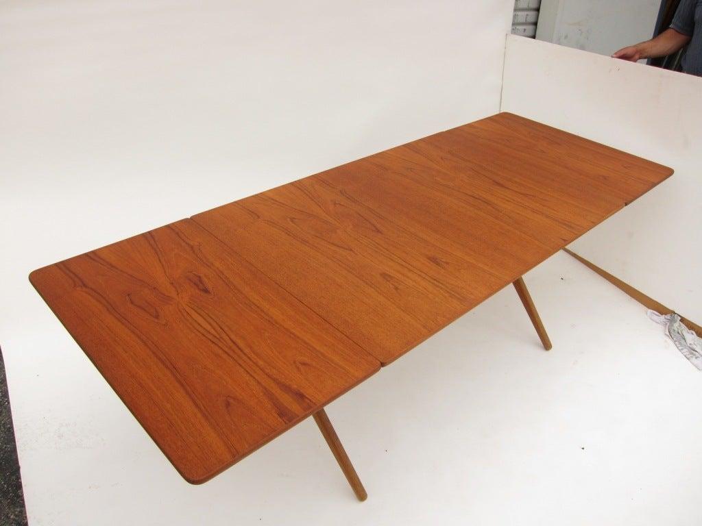 dining table hans wegner dining table vintage. Black Bedroom Furniture Sets. Home Design Ideas