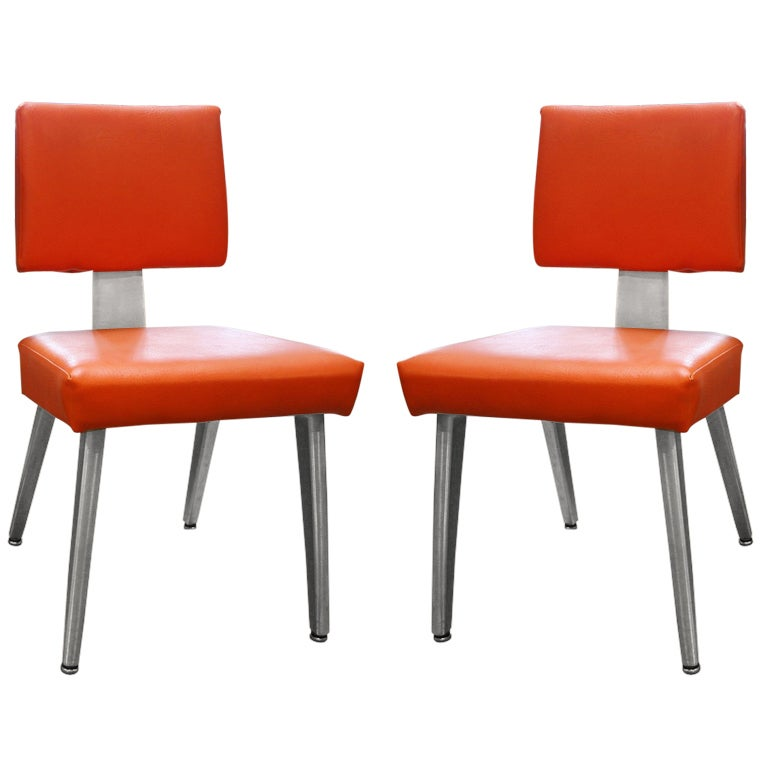 1980 S General Fireproofing Company Guest Chairs At 1stdibs
