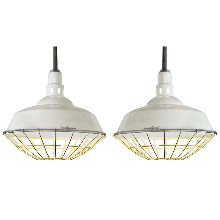 Old Warehouse Light Fixtures: Vintage Industrial Warehouse Lights At 1stdibs