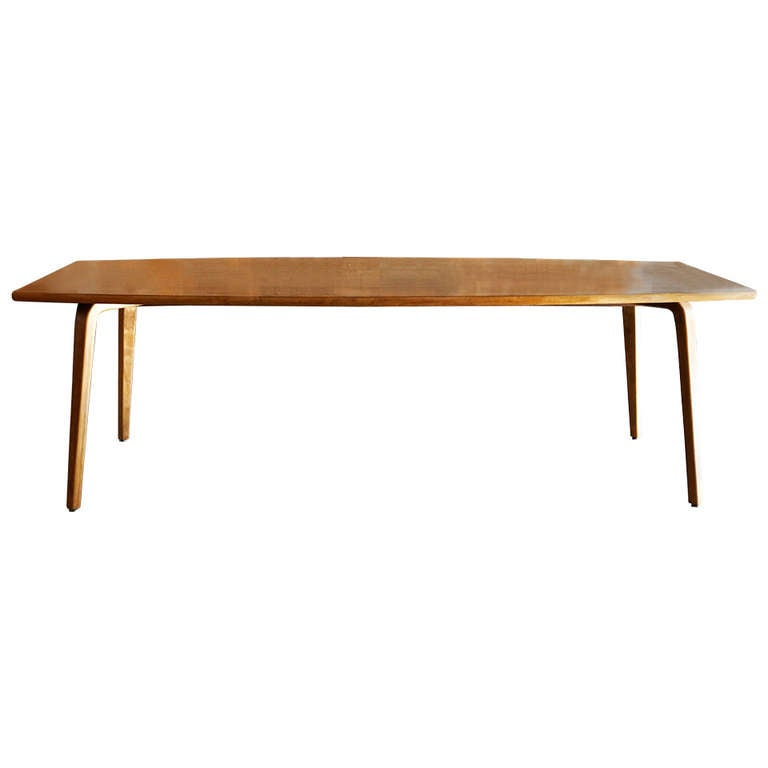 Thonet Original Bentwood Conference Table 1950s At 1stdibs