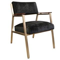 Shaw Walker Aluminum Arm Chair