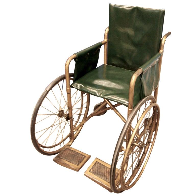 Vintage Steel Wheelchair at 1stdibs : XXX088 from www.1stdibs.com size 768 x 768 jpeg 68kB
