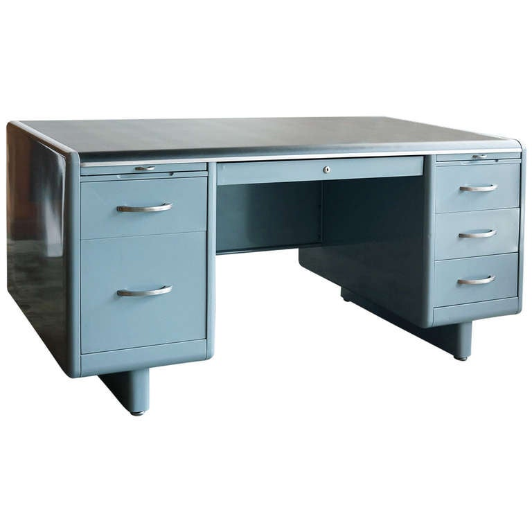 This Tanker Desk By Steel Age Refurbished Is No Longer Available