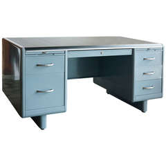 Tanker Desk by Steel Age, Refurbished