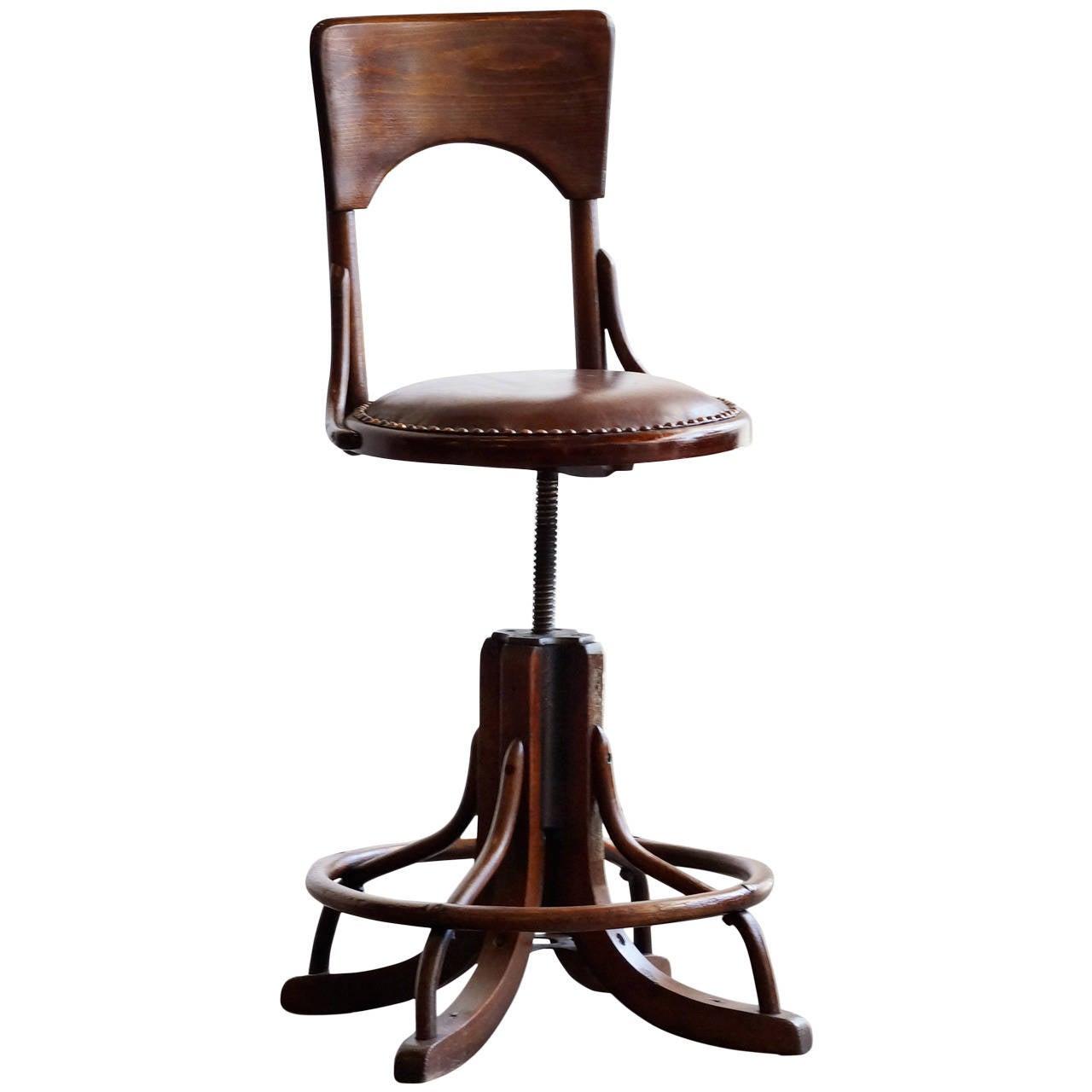 Vintage Drafting Chairs