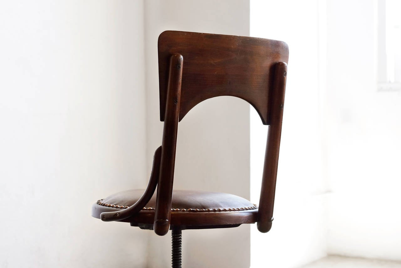 Brilliant Antique Wood Drafting Stool Circa 1890S At 1Stdibs Caraccident5 Cool Chair Designs And Ideas Caraccident5Info
