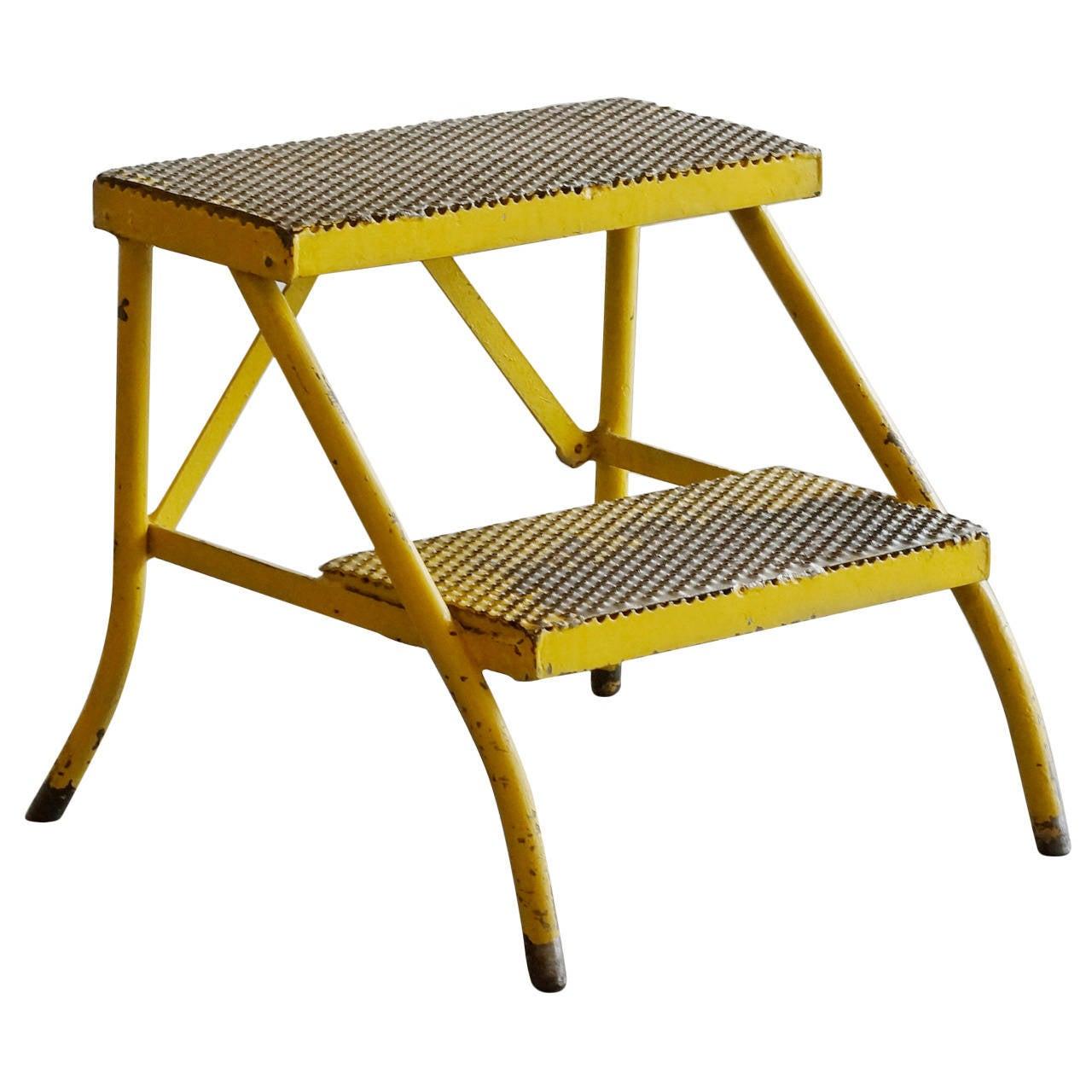 Vintage Industrial Step Stool Three Available At 1stdibs
