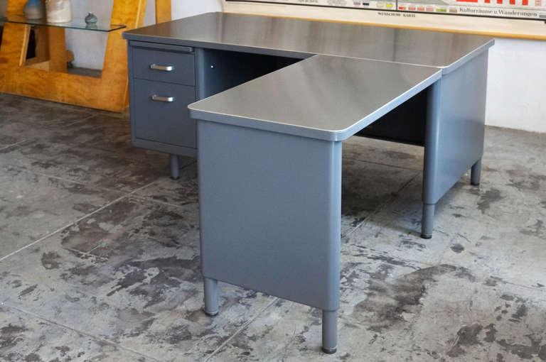 Mcdowell Craig Tanker Desk With Return At 1stdibs