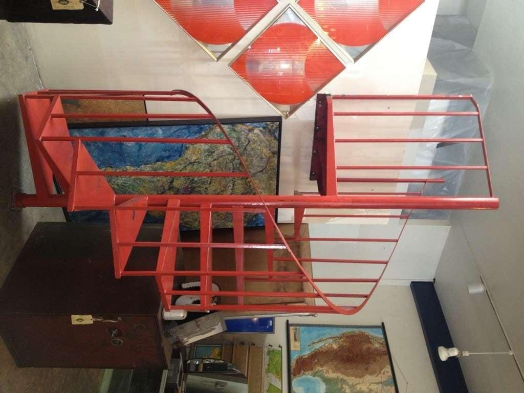 Vintage Steel Spiral Staircase 2